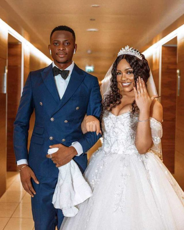 """E no fit last"" - Fans react to wedding of Sydney Talker and Nengi"