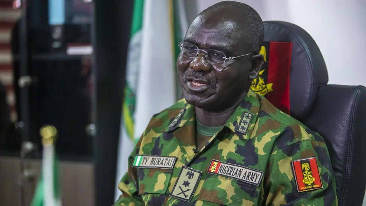 End SARS: No one was killed at Lekki toll gate - Gen Buratai