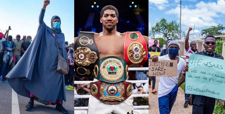#EndSars: Anthony Joshua Commends #SARSMUSTEND protesters