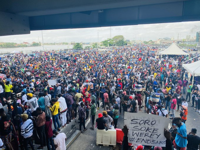 #EndSARS: Federal Government To Forcefully End Protest If… Presidential Committee