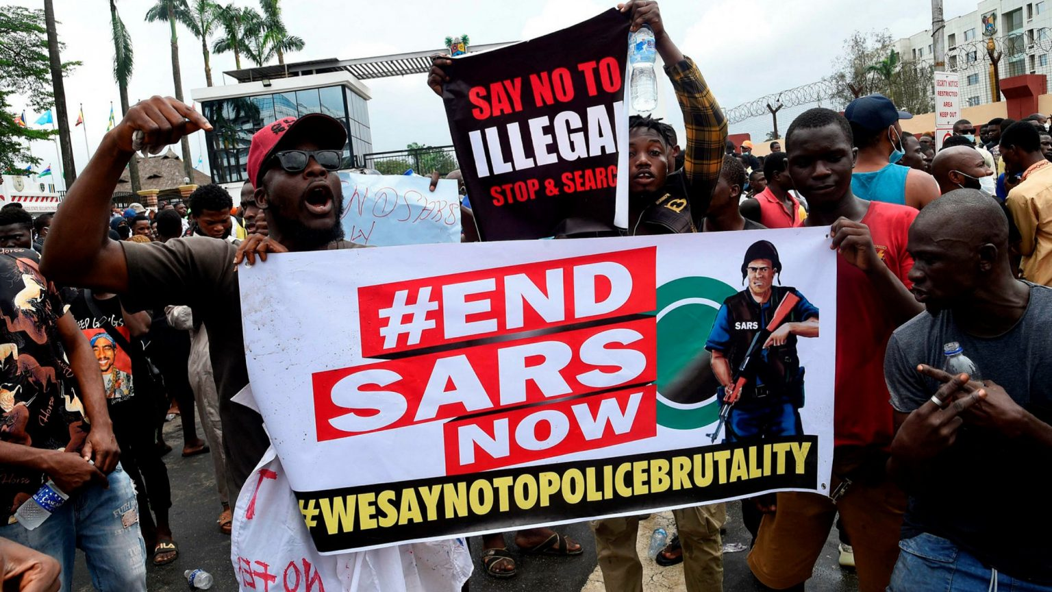 #EndSARS: Fresh Protests begin in Lagos State & Ibadan
