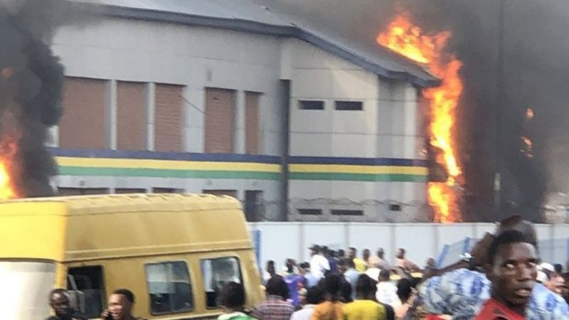 #EndSARS: List Of Police Stations Destroyed In Lagos Released