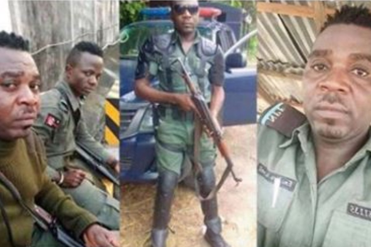 #EndSARS: Nigerian Soldier Goes Viral After Threatening to Kill Protesters (Photo)