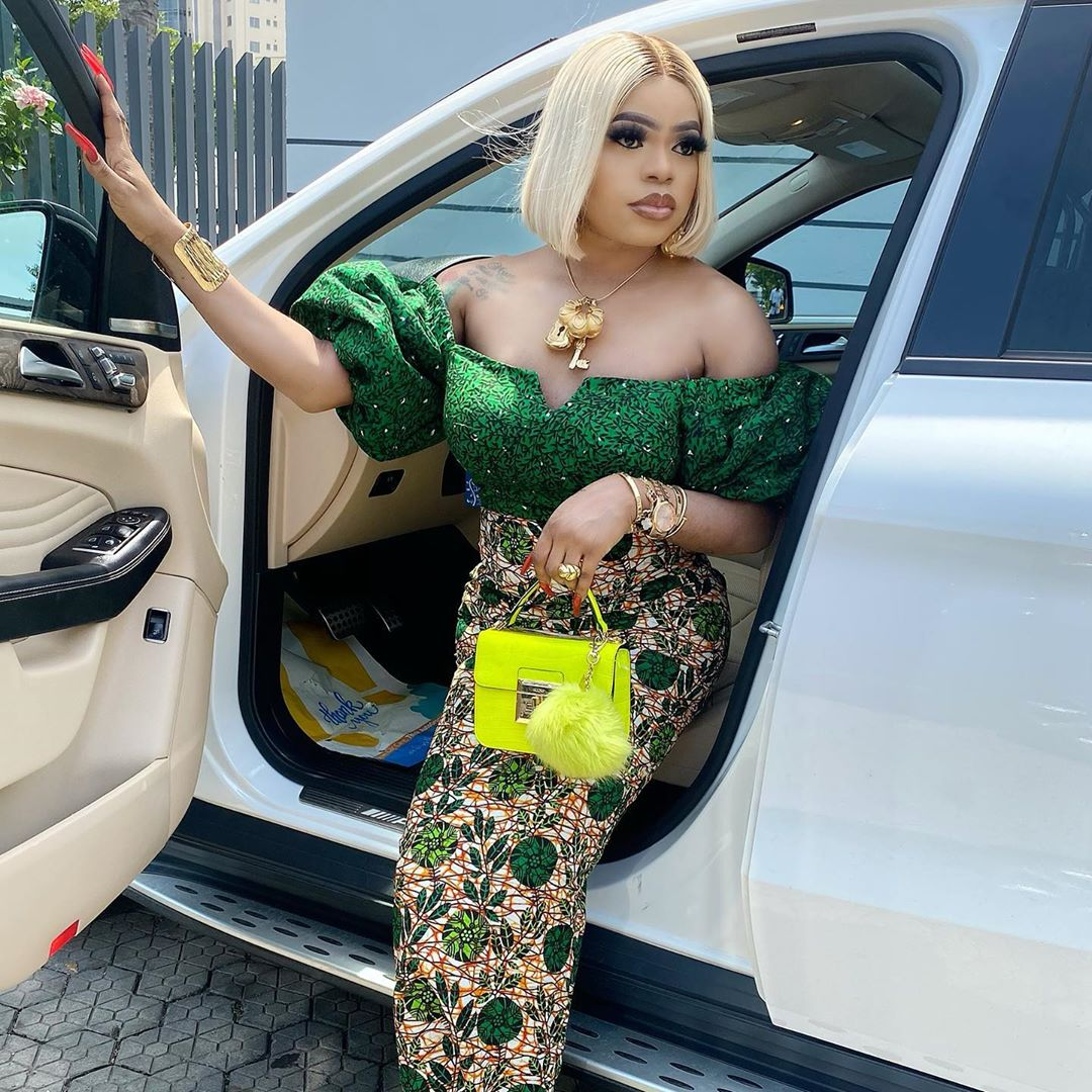 #EndSARS: Why I Cannot Join the Protest - Bobrisky Discloses