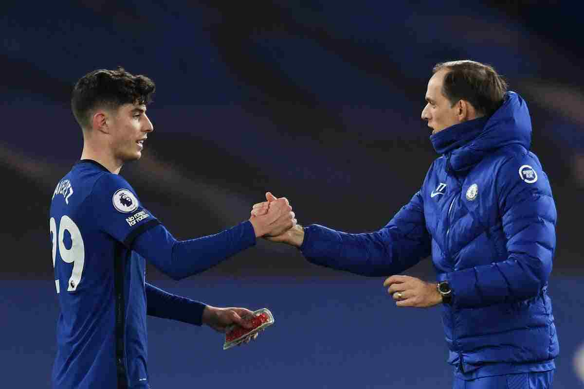 EPL: Chelsea board satisfy with Tuchel's impact on Havertz, Two others