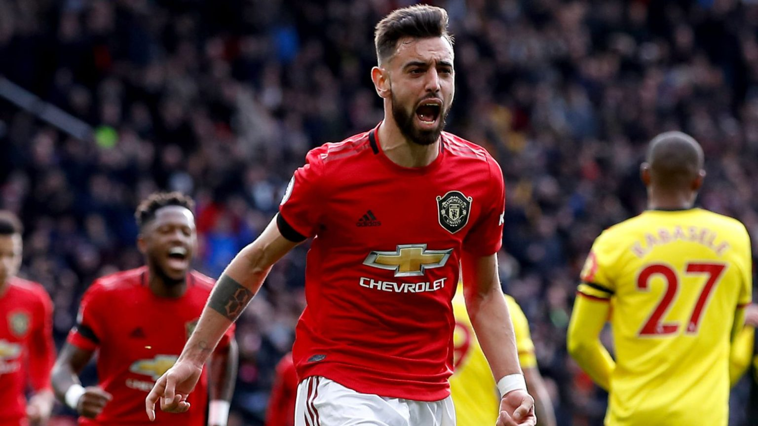 EPL: Manchester United set to double Bruno Fernandes' Wages