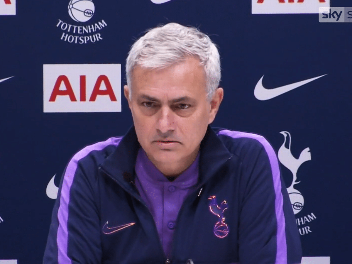 EPL: Mourinho reveals why Tottenham Failed to Beat Crystal Palace
