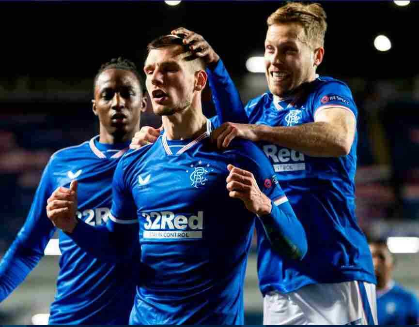 Europa Round Of 32: Aribo, Balogun In Action As Rangers Net Five Past Antwerp; Osimhen's Napoli Crash Out