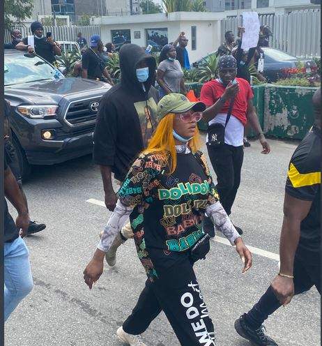 Ex-BBNaija Star Tacha Dares Wike, Insists On EndSARS Protest In Rivers