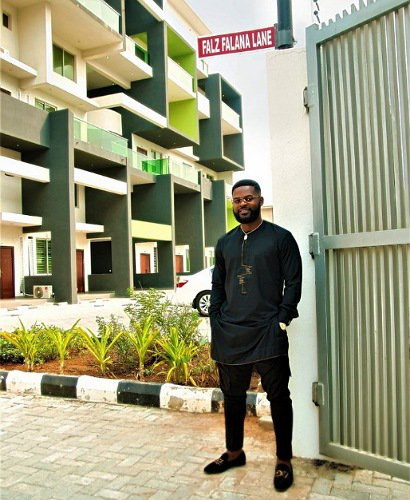 Falz excited as he's honoured with street named after him in Lagos
