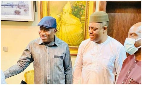 Fani-Kayode Visits Jonathan After Meeting Buni, Bello