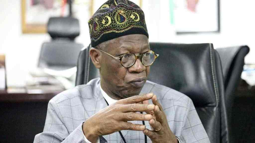 FG cannot destroy bandits' hideouts in forests - Lai Mohammed