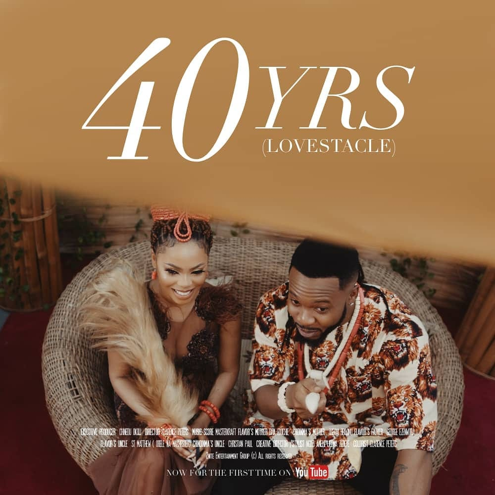 Flavour Ft. Chidinma - 40yrs (Lovestacle Movie Video)