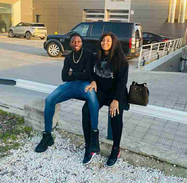 Footballer Kenneth Omeruo gifts wife, Chioma, a Range Rover as a birthday gift