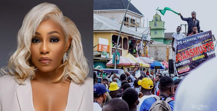 """For once, the Voices of Real People are Heard"" - Rita Dominic on #EndSARS"