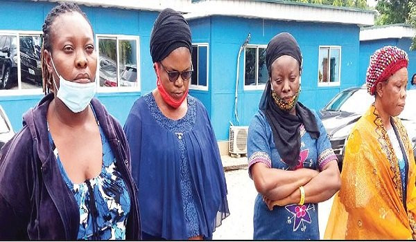Four Women Arrested For Allegedly Selling Newborn Baby For N1.5M (Photo)