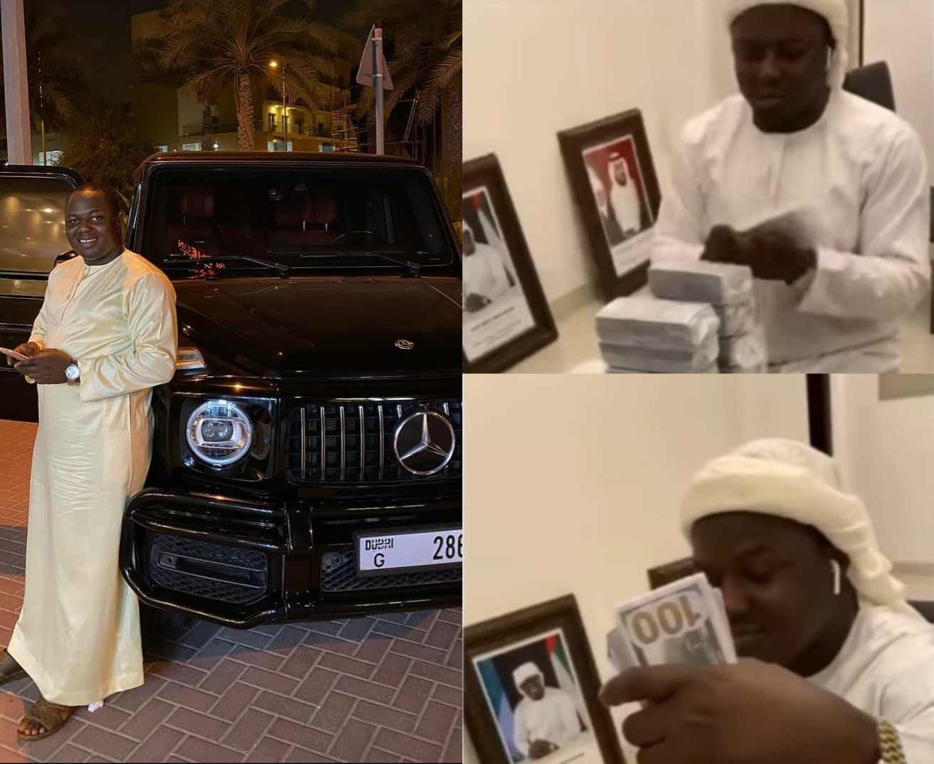 Friends mourn as Nigerian man reportedly dies in Dubai police custody after being arrested for flaunting Dollars on Instagram