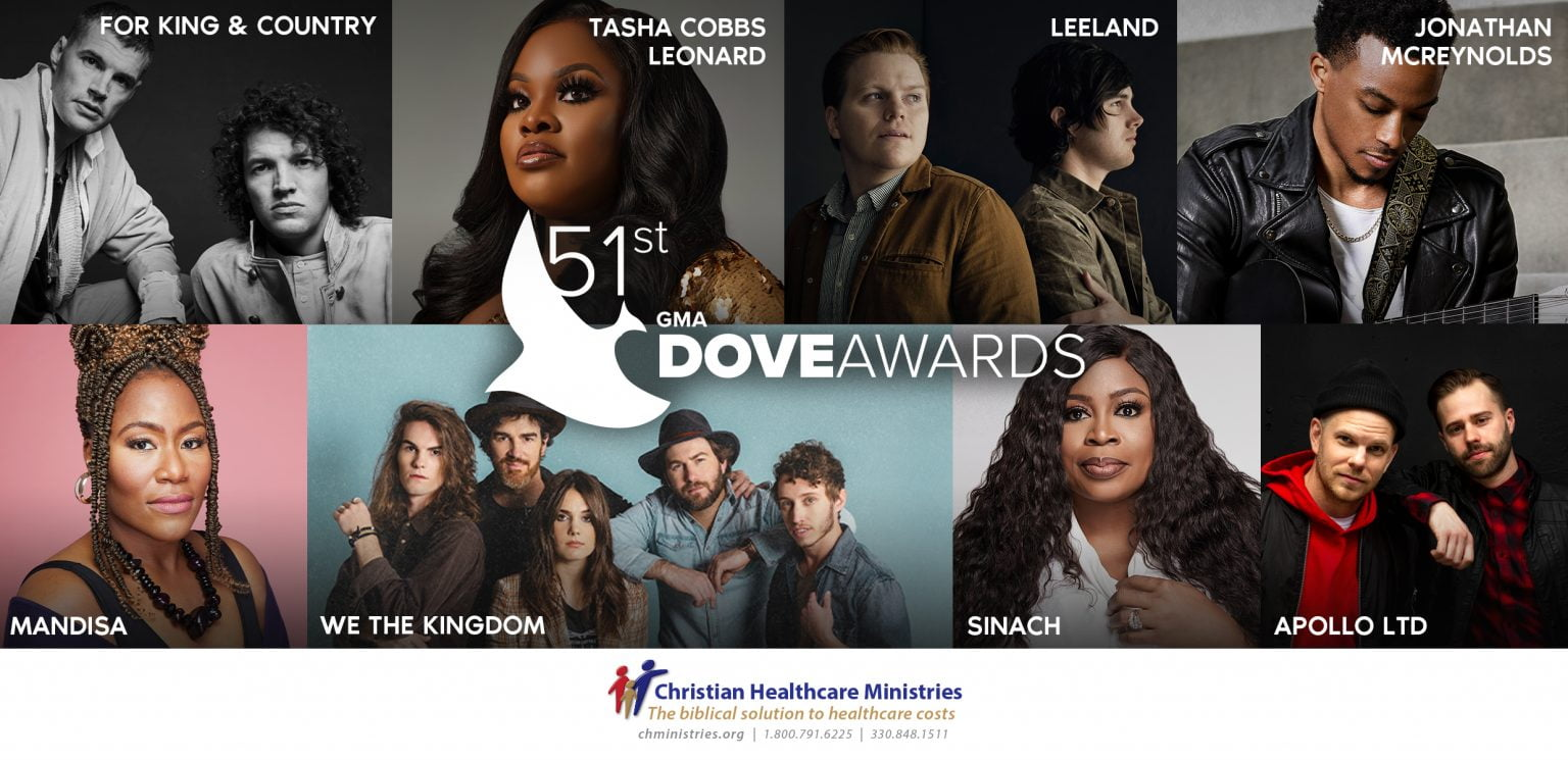FULL LIST: Winners At The 2020 Gospel Music Association Dove Award