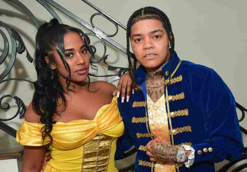 """Get your bag mama""- Rapper Young M.A reacts to Davido's alleged relationship with Ex (Video)"