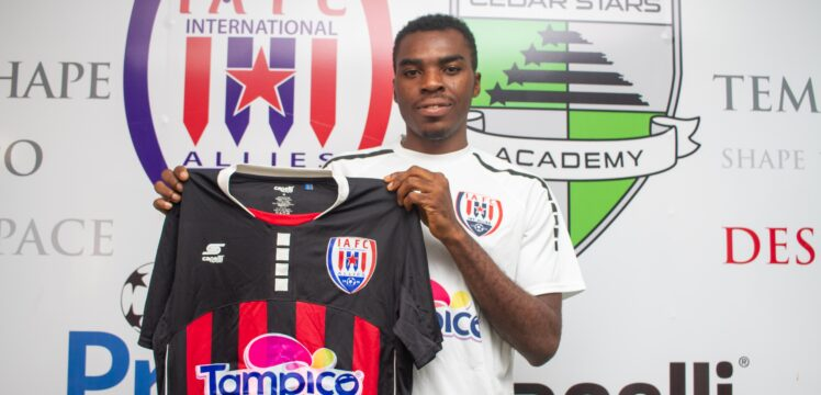 Ghanaian Club Inter Allies Announce Signing of Nigerian Youngster Kingsley Kuku