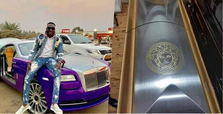 Ginimbi buried in Versace customized Coffin worth over N1.9Million
