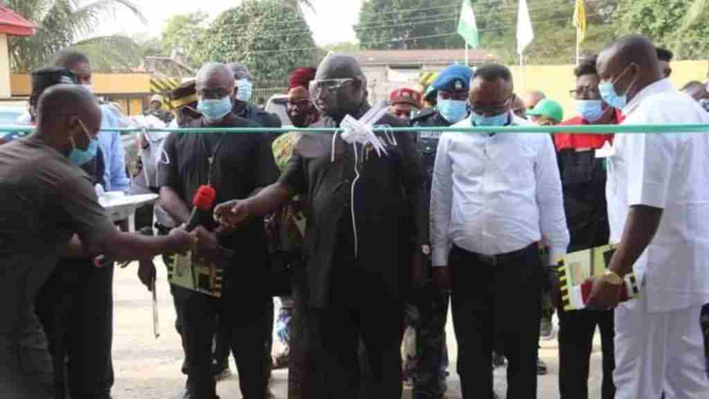 Gov Ikpeazu commissions first Abia Computerized Vehicle inspection centre