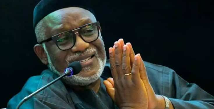 Governor Akeredolu Reveals cause of Akure Massive Explosion