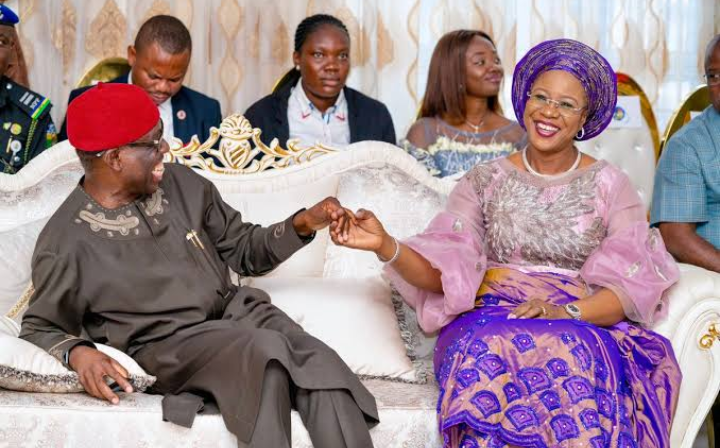 Governor Okowa, Wife and Daughter Test Negative for Covid-19