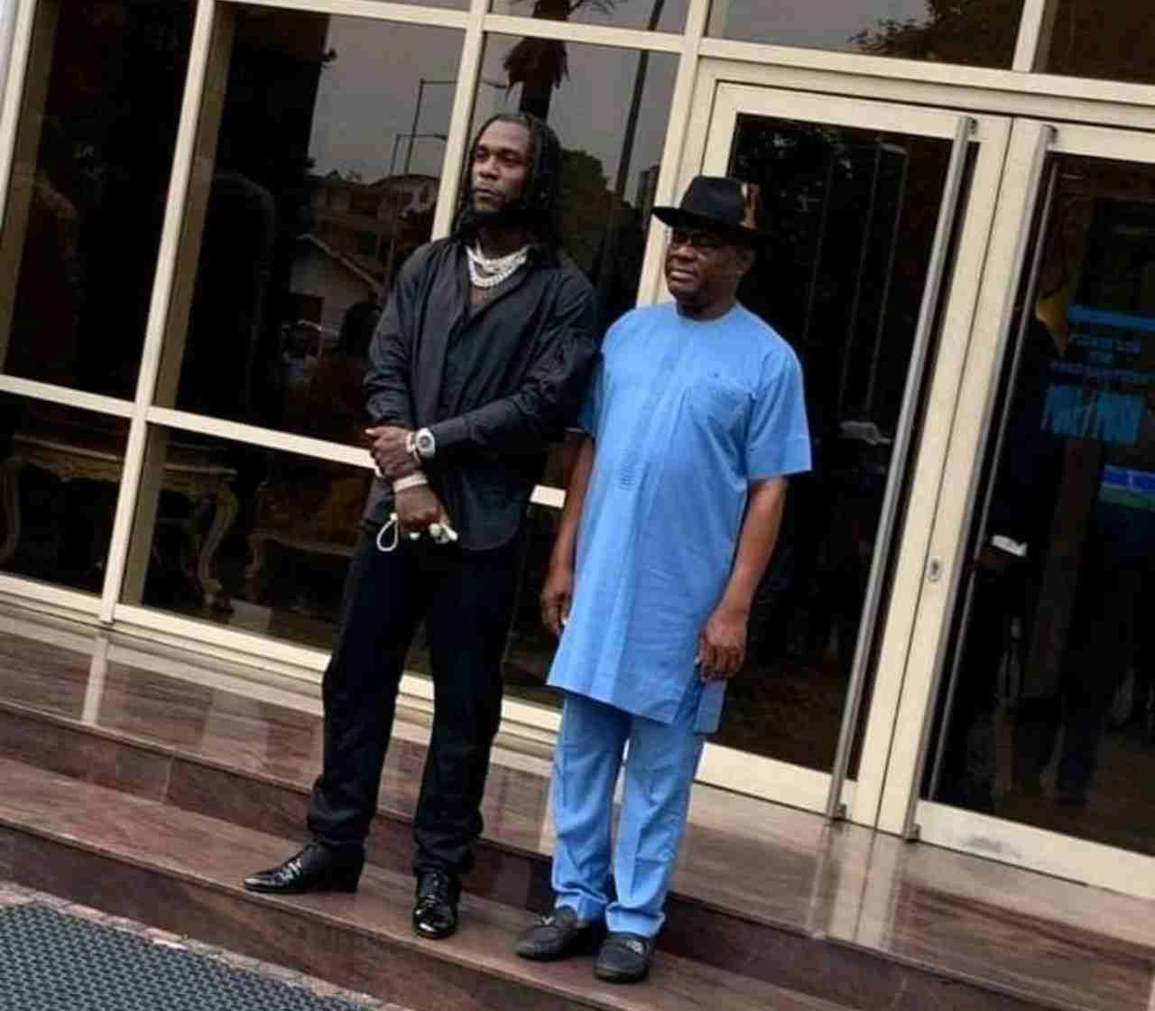 Grammy Awards: Governor Wike gifts Burna Boy land, Money to Build