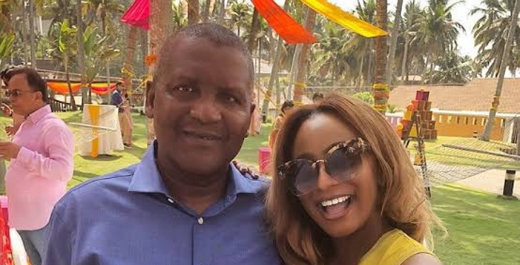Happy Birthday to My godfather - DJ Cuppy Celebrates Aliko Dangote