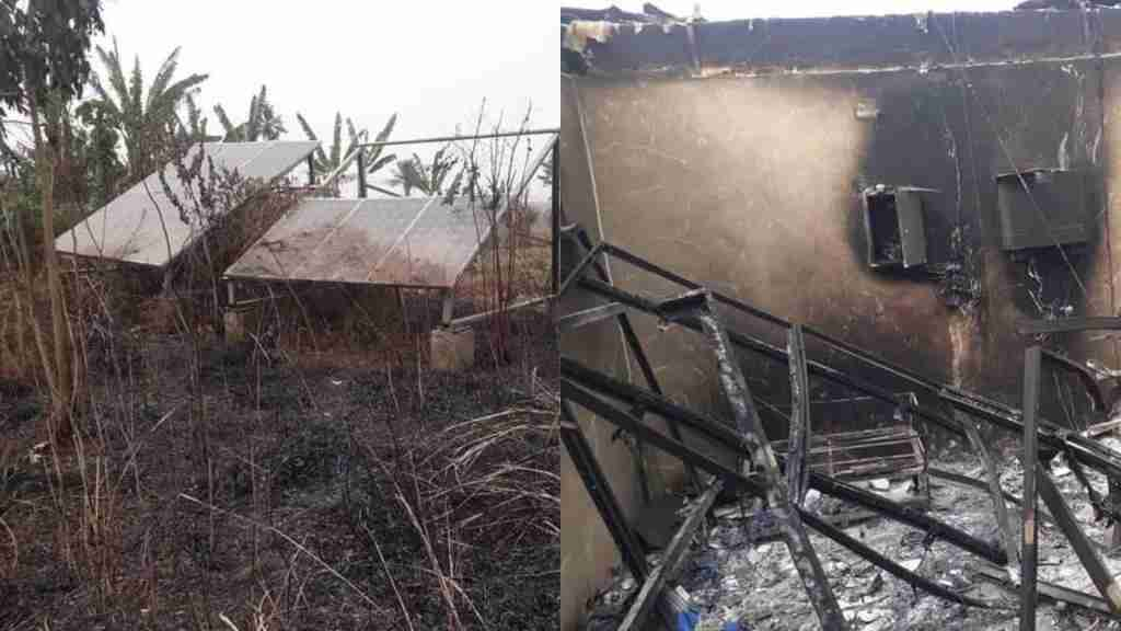 Herdsmen set solar power station on fire in Ogun