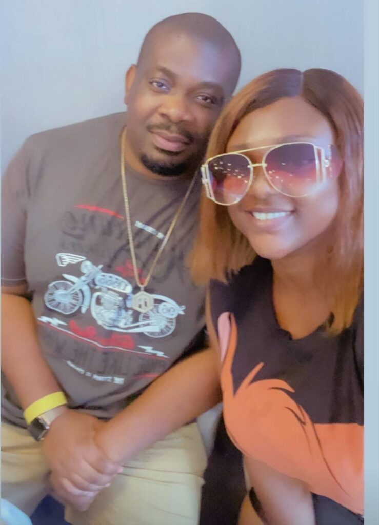 HOT GIST! Don Jazzy Spotted With Actress Who Asked Him Out On His Birthday… Love In The Air