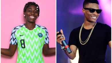How Wizkid, 2Face Inspired My Life, Career – Super Falcons Star, Oshoala Reveals