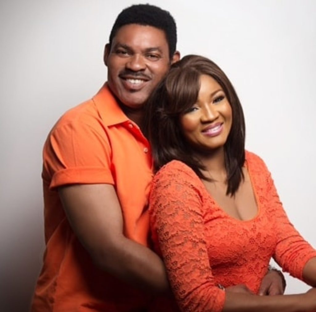 """I want my personal time with you uninterrupted"" - Alleged leaked chat between Omotola Jalade's husband and his side chick"