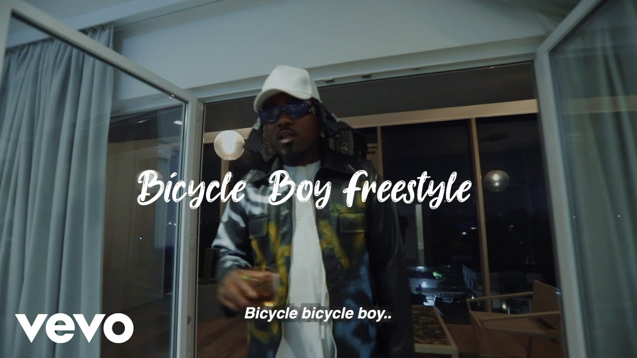 Ice Prince - Bicycle Boy Freestyle (Official Video)