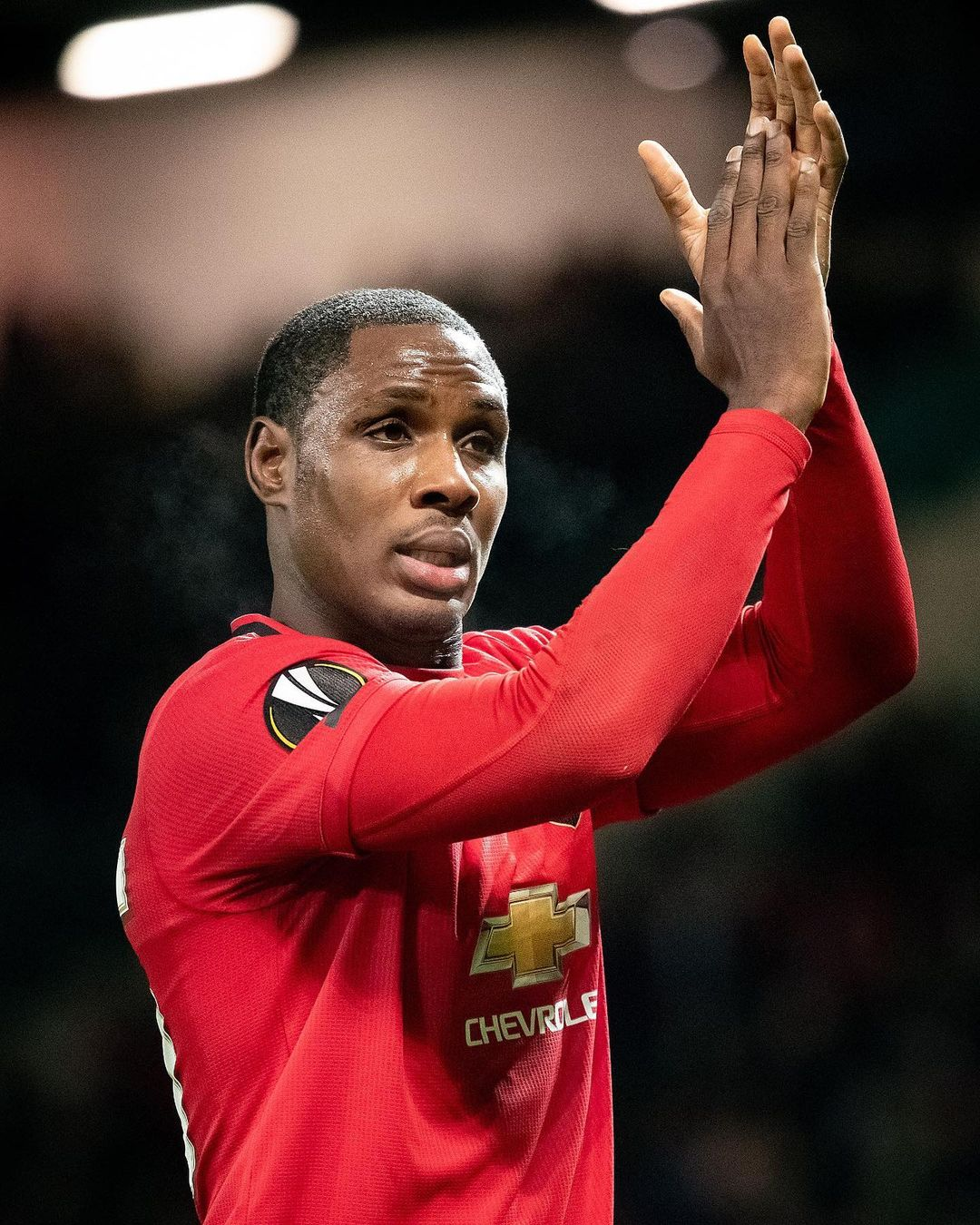 Ighalo Bids Farewell To Manchester United