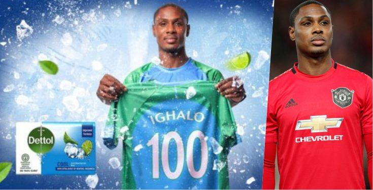 Ighalo of Manchester United Now Brand Ambassador of Dettol Cool