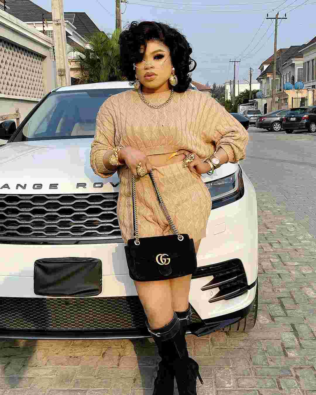 """Insulting fans because they beg is not right"" - Bobrisky throws shade"
