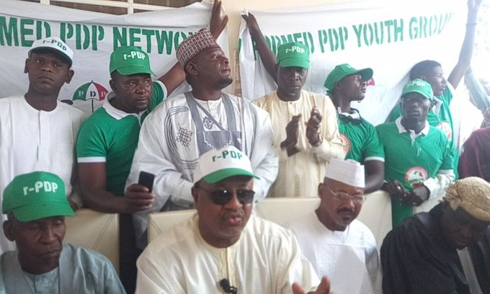 ITS A BIG LIE!!! Adamawa PDP Faction Reacts To Split, Vows To Fight On