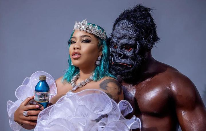 """It's like you people don't know I'm mad"" – Toyin Lawani reacts to husband snatching scandal"