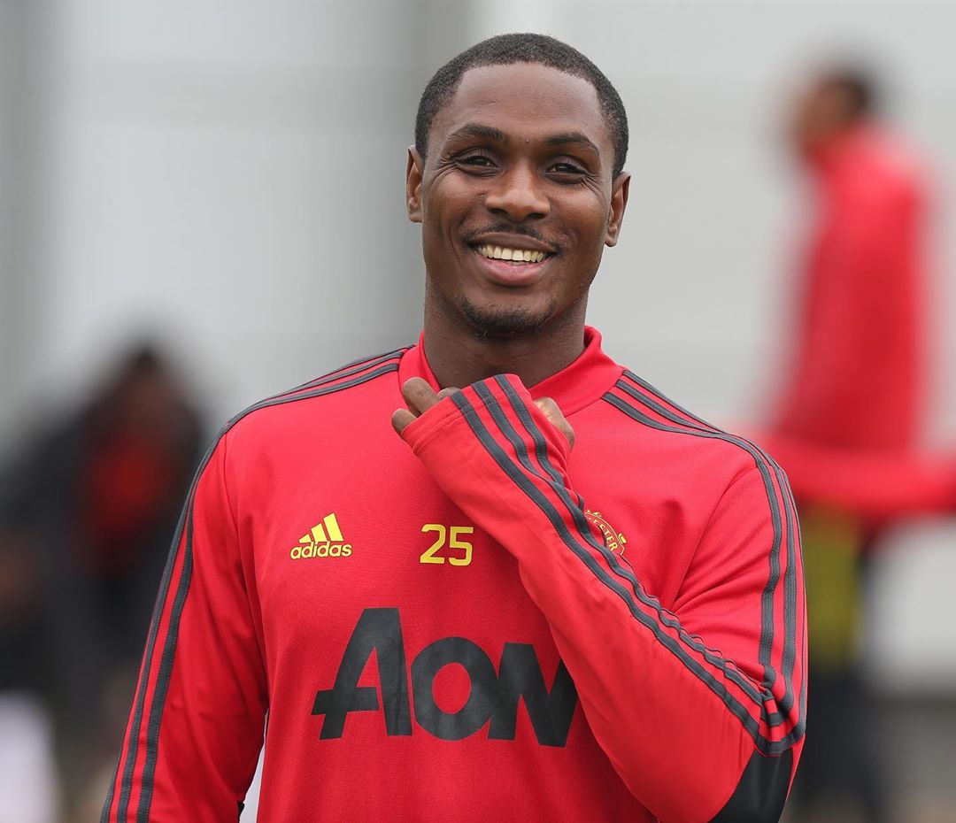 """It's Not Every Man's Dream That Comes To Pass, Well Mine Did"" - Man United Striker, Odion Ighalo"