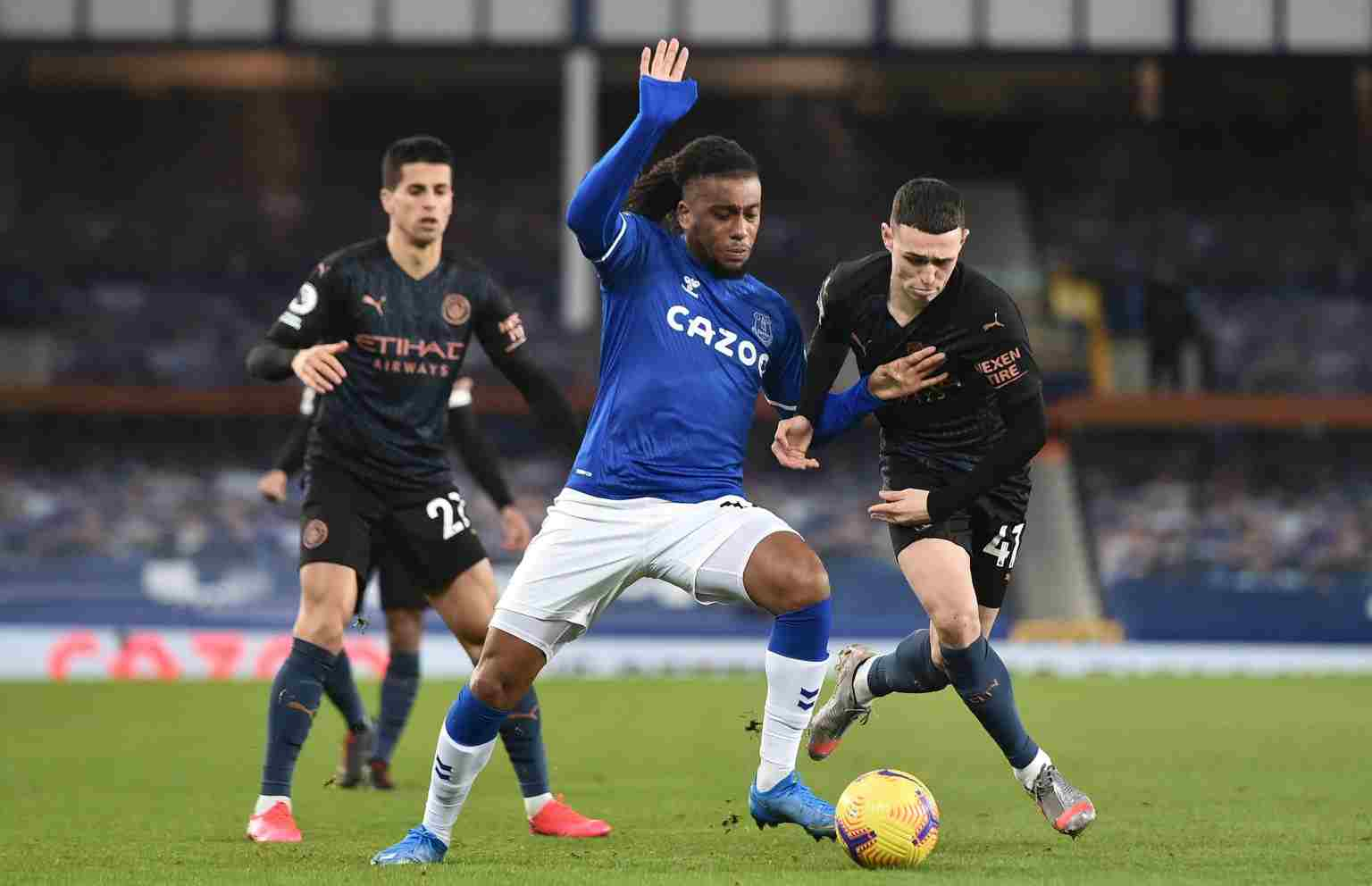 Iwobi: Everton Will Bounce Back From Manchester City Defeat