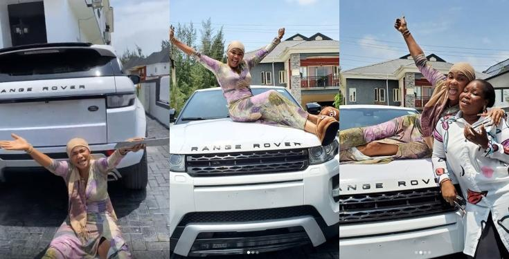 Iyabo Ojo gets a Range Rover surprise Gift from her god-Daughter