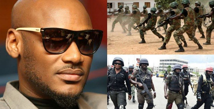Join the #EndSARS Movement if you're not Happy about your Welfare - 2Baba tells Nigerian Security Agencies