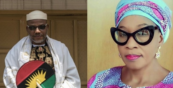 Kemi Olunloyo Speaks on the Rumored Death of Nnamdi Kanu