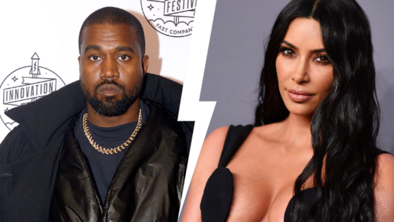 Kim Kardashian And Kanye West Are Reportedly Heading For Divorce After Six Years of Marriageq