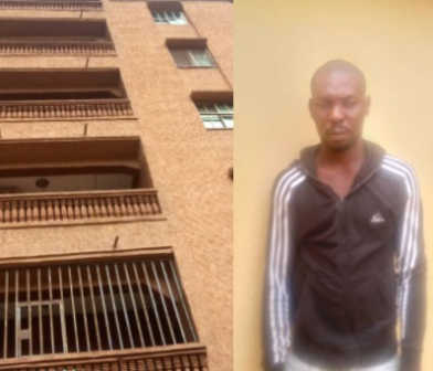 Lady dies after her boyfriend allegedly pushed her from a five-storey building in Anambra (photos )