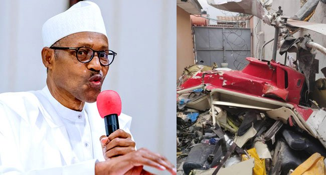 Lagos Helicopter Crash: Buhari Commiserates With Families Of Victims