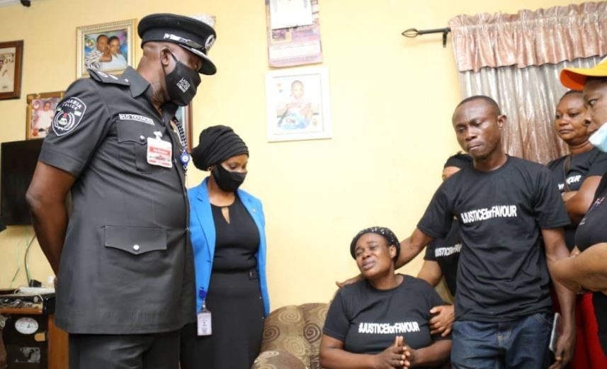 Lagos Police Commissioner Visits Family Of 11-Year-Old Girl Raped To Death