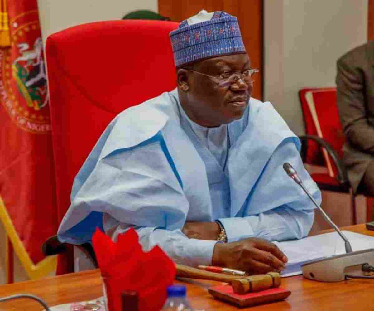 Lawan mentions those behind Nigeria's breakup Plot
